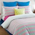Tommy Hilfiger Pryia Stripe 3-piece Duvet Cover Set (Euro Shams Sold Separately)