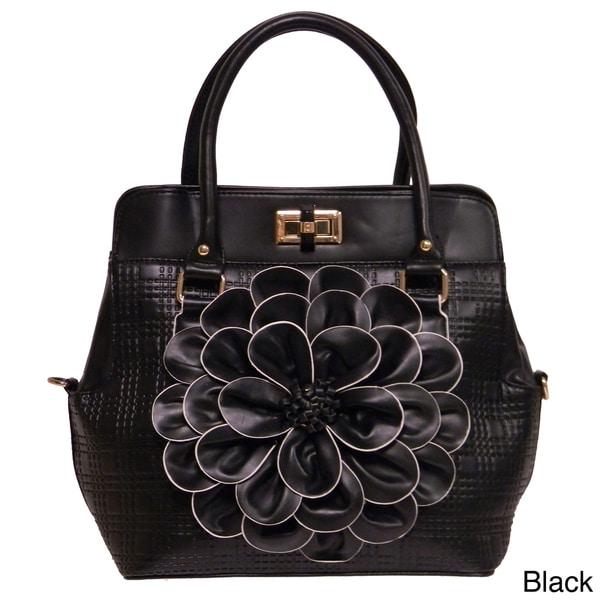 Lovica 'Valentina' Flower Petal Satchel Bag