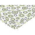 Sweet JoJo Designs Circles Print Fitted Crib Sheet
