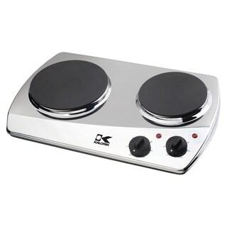 Kalorik Chrome Double-plate Cooking Burner
