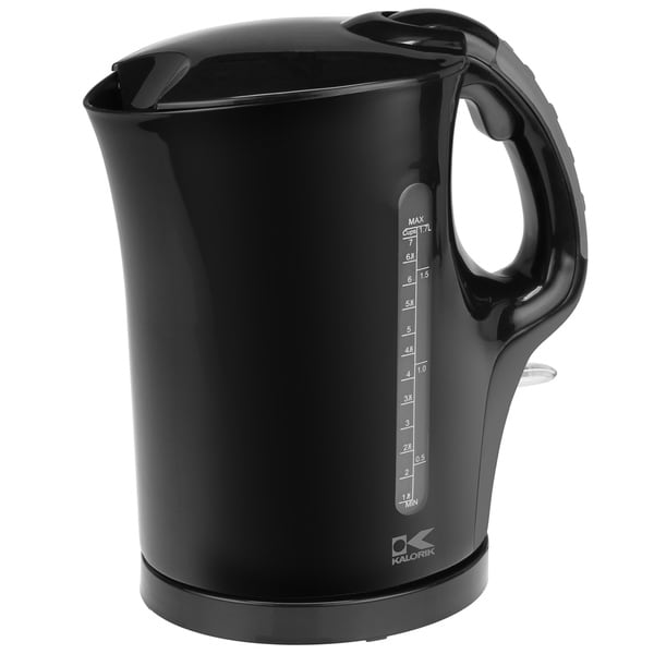 Kalorik Black 1.75-quart Cordless Electric Water Kettle