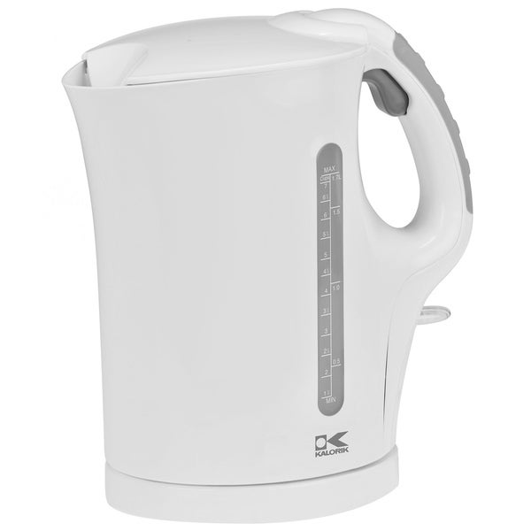 Kalorik White 1.75-quart Cordless Electric Water Kettle