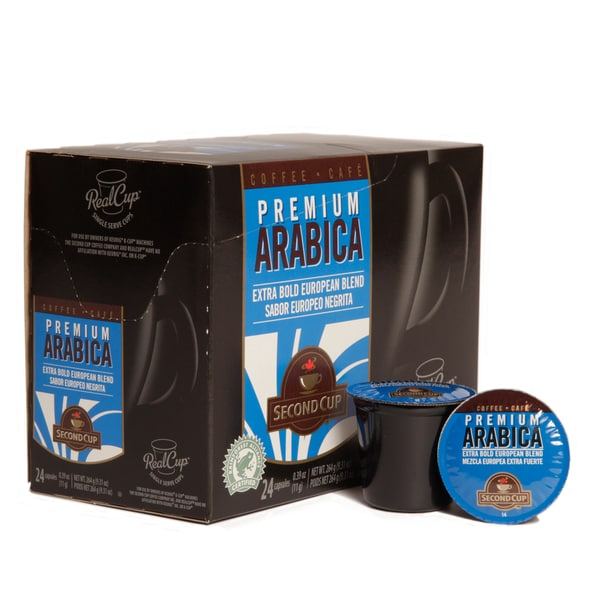 Second Cup Extra Bold European Blend (Set of 96)