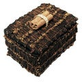 Handmade 3-inch Rectangle Clove Box, Handmade in Indonesia