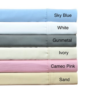 Brielle 100-percent Bamboo Rayon Sateen 510 Thread Count Premium Sheet Set or Pillowcase Separates