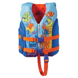 Full Throttle Child Hinged Water Sports Vest Fish Child