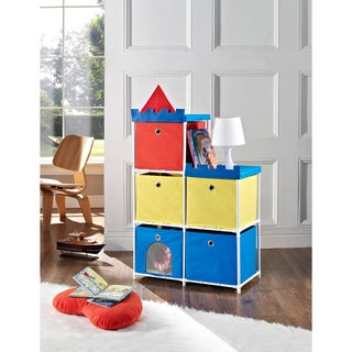 Altra Kids 5-bin Castle Storage Unit
