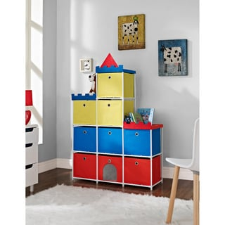 Altra Kids 9-bin Castle Storage Unit