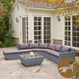 Christopher Knight Home Carmel 7-piece Outdoor Sectional Set