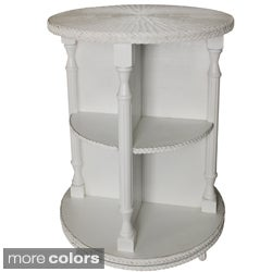 3-tier Swivel Curio Table