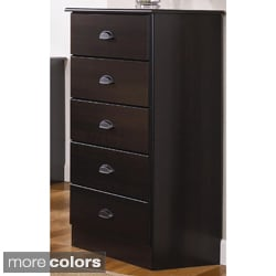 Lang Furniture Five-Drawer MDF Chest