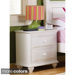 Nightstand with 2 Drawers