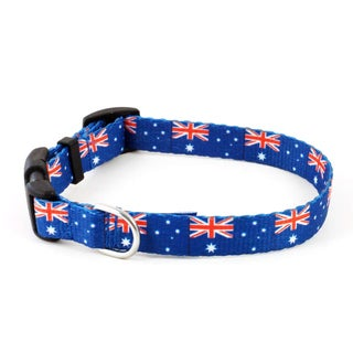 PatriaPet Australian Flag Dog Collar