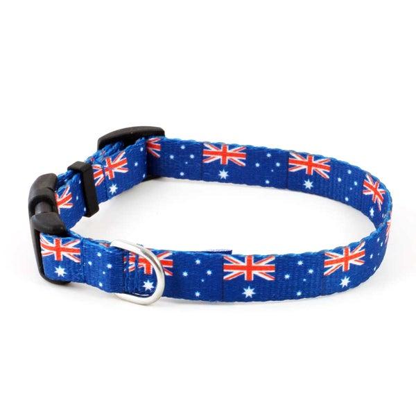 PatriaPet Australian Flag Dog Collar