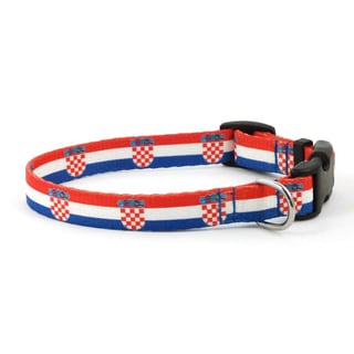 PatriaPet Croatian Flag Dog Collar