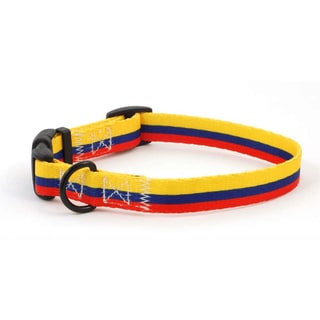 PatriaPet Colombian Flag Dog Collar