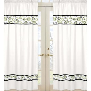 Spirodot 84-inch Curtain Panel Pair