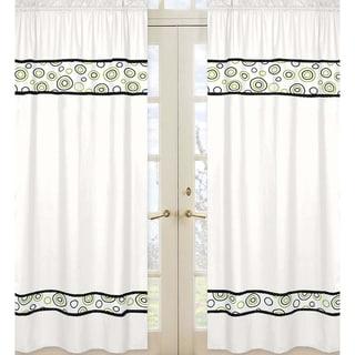 Spirodot 84-inch Curtain Panel Pair