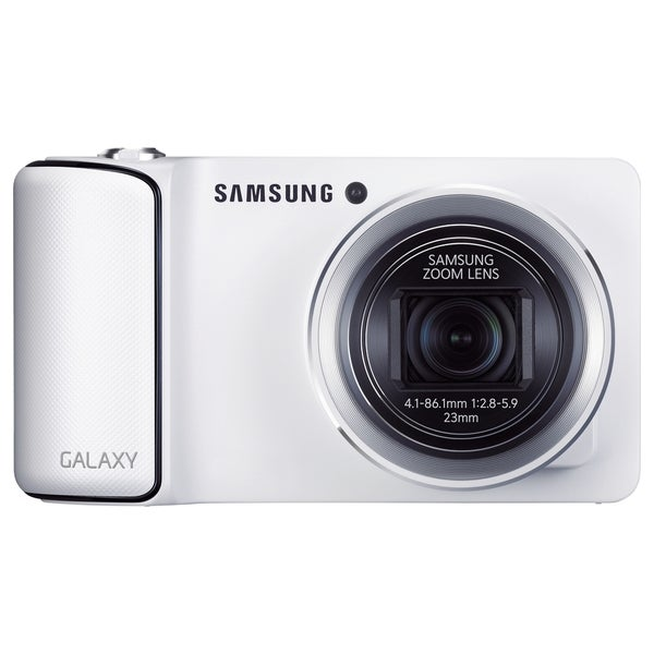 Samsung Galaxy EK-GC110 16.3 Megapixel Compact Camera - White