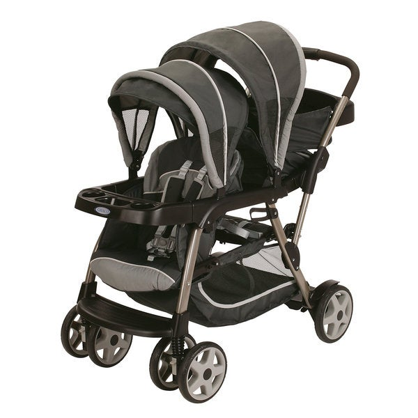Graco Ready2Grow Stand and Ride Stroller in Glacier 10921625
