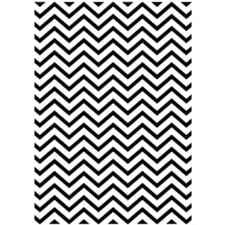 "Embossing Folder Background 5""X7""-Chevron"