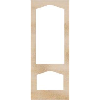 """Wood Flourishes-Door Frames 4""""X10.25"""" 2/Pkg"""