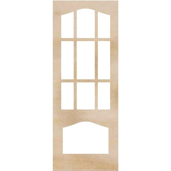 "Wood Flourishes-Decorative Door Frames 4""X10.25"" 2/Pkg"