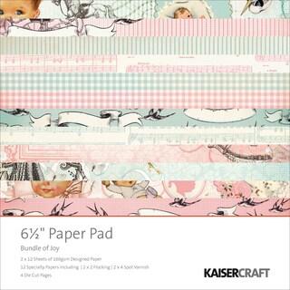 """Bundle Of Joy Paper Pad 6.5""""X6.5""""-Boy & Girl"""