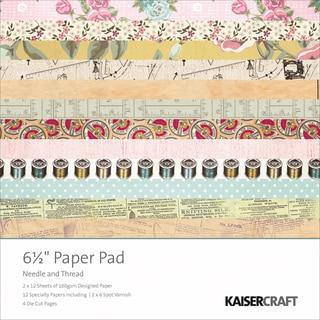 "Needle & Thread Paper Pad 6.5""X6.5""-"
