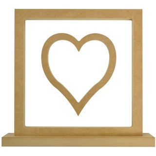 Beyond The Page MDF Heart Frame-11.5