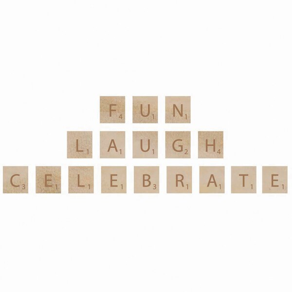 Wooden Letter Words-Fun