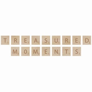 Wooden Letter Words-Treasured