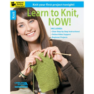 Leisure Arts-Learn To Knit, Now