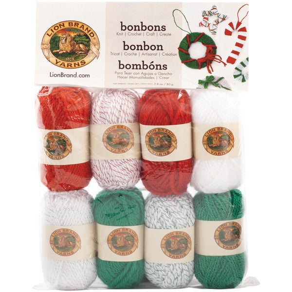 Bonbons Yarn 8/Pkg-Jingle Bells