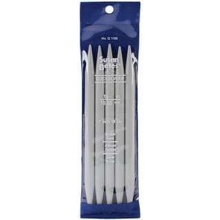 "Quicksilver Double Point Knitting Needles 7"" 5/Pkg-Size 15/10mm"