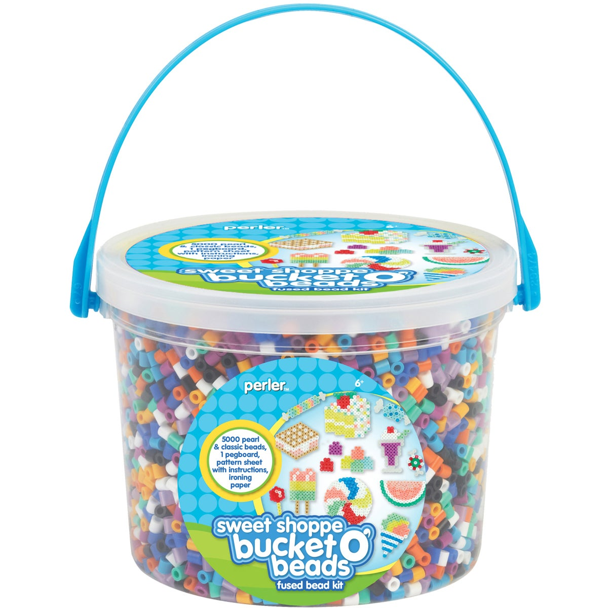 Perler Fun Fusion Fuse Bead Activity Bucket-Sweet Shoppe at Sears.com