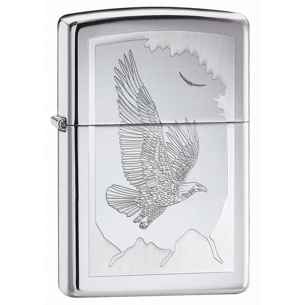 Zippo Birds Of Prey Metal Lighter