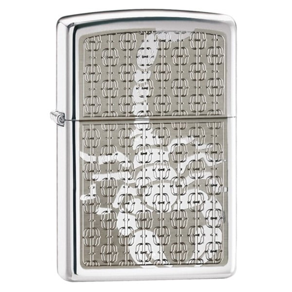 Zippo Hidden Scorpion Metal Lighter
