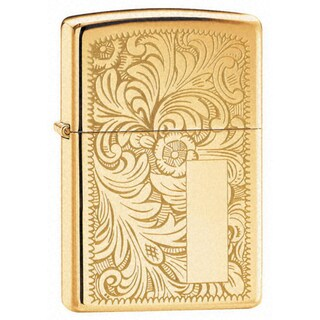 Zippo Venetian High-polished Brass Lighter