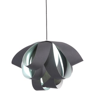Fringe Black Ceiling Lamp
