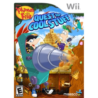 Wii - Phineas & Ferb Quest For Cool Stuff