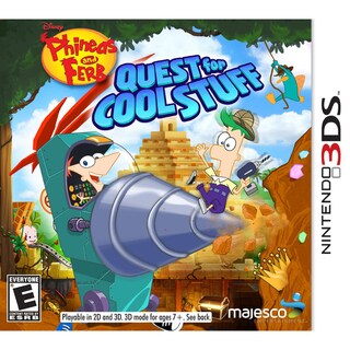 Nintendo 3DS - Phineas & Ferb Quest For Cool Stuff