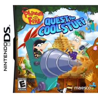 Nintendo DS - Phineas & Ferb Quest For Cool Stuff