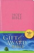 Holy Bible: New International Version, Pink, Leather-Look (Paperback)