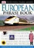 Dk Eyewitness Travel European Phrase Book (Paperback)