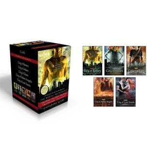 The Mortal Instruments: City of Bones; City of Ashes; City of Glass; City of Fallen Angels; City of Lost Souls (Paperback)