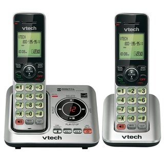 VTech CS6629-2 DECT 6.0 Expandable Cordless Phone with Answering Syst