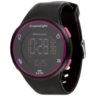 Freestyle Men's 'Cadence' Black/ Pink Digital Watch
