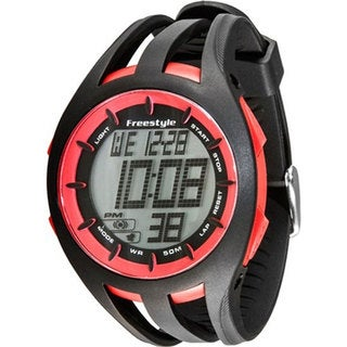 Freestyle Men's 'Condition' Black/ Red Digital Watch