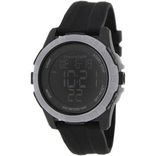 FreeStyle Men's Sport Black Silicone Strap Digital Watch